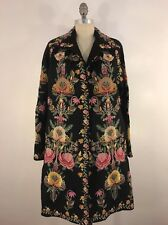 JOHNNY WAS BIYA EDEN WOOL COAT SIZE S DOLMAN SLV NWT