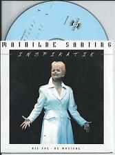 MATHILDE SANTING - Inspiratie CD SINGLE 2TR CARDSLEEVE (MUSICAL JOE) 1997