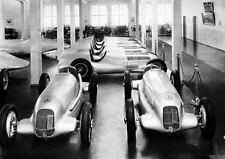 1934 Mercedes Benz Silver Arrow Formula 1 Factory Photo J034