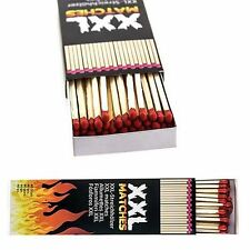 1 x XXL LONG 20cm Saftey Wooden Matches 40pcs In Box Candel Bonfire BBQ lighter