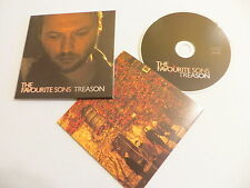 THE FAVOURITE SONS Treason EP CD single Down Beside Your Beauty