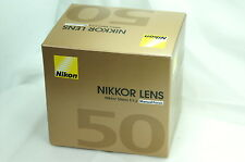 Brand NEW 50  Nikon Ai-s 50mm F1.2 Nikkor Lens NEW in Box