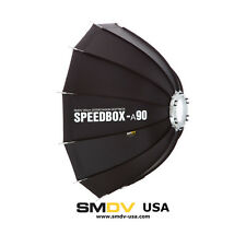 "SMDV ALPHA SPEEDBOX-A90B softbox - 90cm (36"") with Bowens S-Type Mount"
