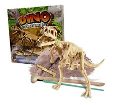 DINO EXCAVATION KIT ARCHAEOLOGY DIG YOUR OWN TYRANNOSAURUS REX SKELETON 16-0363