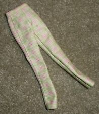 "BARBIE DOLL CLOTHES - 11"" BABYSITTER TEEN SKIPPER PLAID PANTS"