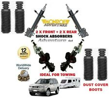 FOR NISSAN  X TRAIL 2001-2007 FRONT + REAR SHOCK ABSORBER SET + DUST COVERS