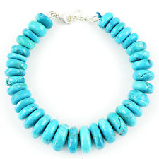 ELEGANT AAA 371.00 CTS NATURAL UNTREATED TURQUOISE BEADS BRACELET - BIG DEAL