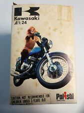 Vintage Polistil Kawasaki H2 750 Triple GT54 Still in Original Box 1:24 scale
