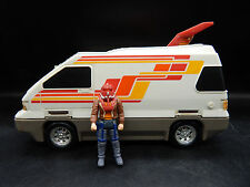 1986 Kenner M.A.S.K. SLINGSHOT vintage toy vehicle RV sonic jet Ace Riker MASK