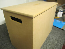 Storage Box with Handles  EXTRA LARGE 12mm Thick. With Or Without Handle On Top