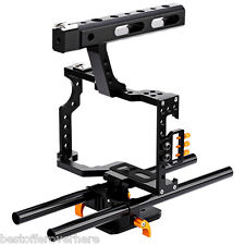 Original DSLR Camera Video Cage Stabilizer Rig for A7S / A7 / A7R / a7