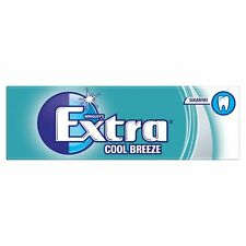 Wrigley's Extra COOL BREEZE Sugar Free Chewing Gum 30 Pack Of 10 Pellets