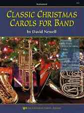 """""""CLASSIC CHRISTMAS CAROLS FOR BAND"""" TRUMPET MUSIC BOOK  BRAND NEW ON SALE!!"""