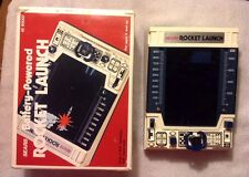 Vintage Sears Battery Powered Rocket Launch Handheld Game W/Original Box 1980's
