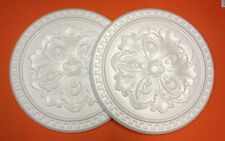 *Decorators Bargain*  2 x Polystyrene Ceiling Rose 410mm () Slightly Shop Soiled
