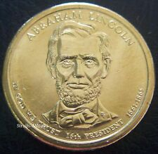 USA $1 ABRAHAM LINCOLN 16th PRESIDENT COIN