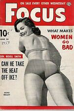 Pocket Magazine--Focus June 53 cover Alice Kelly-----3