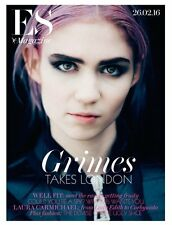 GRIMES Photo Cover interview UK LONDON ES MAGAZINE FEBRUARY 2016