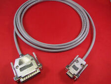 6 ft RS232 Cable DB9 Female to DB25 Male For Most CNC Machines.