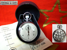6 seconds STOP WATCH AGAT NAVY NAVAL Military Submarine 1984 USSR Soviet Russian