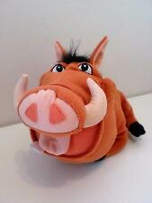 Disney The Lion King Pumba Tootin' Honking Oinking Plush Soft Toy Doll 1990s