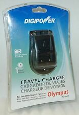 NEW DigiPower Olympus Digital Camera Battery Charger Stylus E-1/30/300/500/520