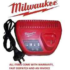 MILWAUKEE 12V GENUINE AUSTRALIAN MODEL 12 VOLT C12C LITHIUM BATTERY CHARGER