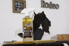 Rodeo Cowhide Soft Bristle Brush/Shampoo Rug Cleaner Combo
