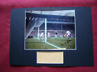 LIVERPOOL 60s LEGEND IAN ST JOHN AUTHENTIC SIGNED A3 MOUNTED PHOTO DISPLAY - COA