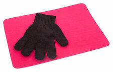 Heat Resistant Glove & Heat proof Mat For GHD & Cloud 9 Hair Wands Tongs  P