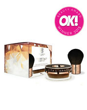 Vita Liberata Trystal Self Tanning Bronzing Mineral Powder And Kabuki Brush