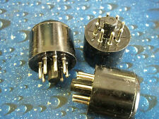Vacuum Tube Sockets  SOCKET SAVER  SOCKET  8 PIN (10 pc)