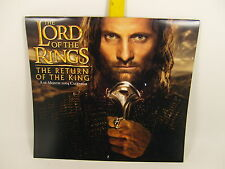 2004 Lord of the Rings Return of The King Wall 16 Month Calendar 12 x 11""