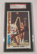 Austin Carr Cleveland Cavaliers Signed Autographed 1976-77 Topps #53 SGC COA