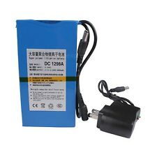 High Quality Super Power DC 12V Portable 9800mAh Li-ion  Rechargeable Battery