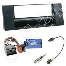 Alpine Lenkradinterface+ BMW 5er E39 Radio Blende+Fach 1996-2005+Antenne KFZ Set