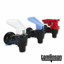 (3 Pack) Water Cooler Faucet Spigot Tomlinson Dispenser Cold Hot Safety Valve