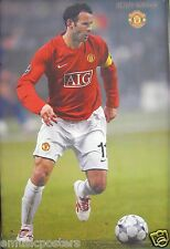 "RYAN GIGGS ""IN ACTION FOR MANCHESTER UNITED FOOTBALL"" POSTER - Soccer"