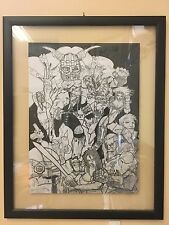 Simon Bisley Heavy Metal -Simon Coldwater- Original Art