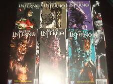 DANTE'S INFERNO #1,2,3,4,5,6 Video Game Tie-In Wildstorm Comics x 6 2006 - NM