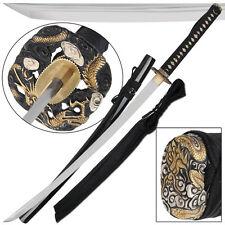 Kiyohime Fire Dragon Japanese Samurai Traditional Handmade 1090 Katana Sword