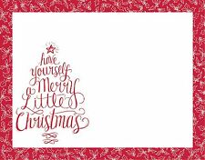 NOTEPAD~HAVE YOURSELF A MERRY LITTLE CHRISTMAS~Paper/Tablet/Letter~Stocking Stuf