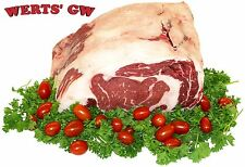 One 5 lb. Prime Rib Roast-Corn Fed Angus-Nebraska Processed-USDA Choice Meat
