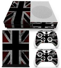 Vinyl Sticker =for XBOX ONE S Console =Union Jack GB Great Britain flag British