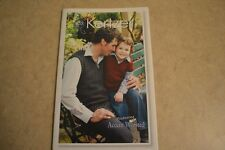 kertzer knitting pattern book #455 Family V-neck Vest men women child plus more