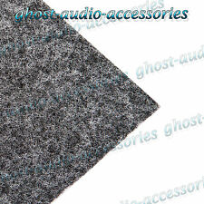 2m x 1.5m Light Grey Acoustic Cloth / Carpet for parcel shelf / boot/van lining