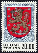 FINLAND 1978 20m Coat of Arms Sc#470A MNH @P805