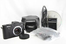 Excellent Nikon 1 V1 10.1 MP Digital Camera - Black (Body Only) #745 s9