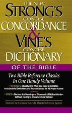 Strong's Concise Concordance and Vine's Concise Dictionary of the Bible by W. E…