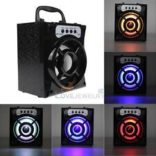Bluetooth Speaker Super Bass Stereo Portable USB/TF/AUX/FM Radio Box MP3 Player